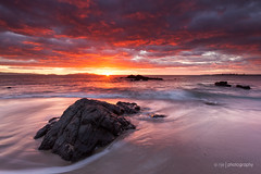 Wedding wonder (.njep) Tags: seascape color beach rock clouds sunrise landscape waves australia tasmania avalonbeach canon5dmkii canon1635mmf4is