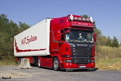 "Scania R Streamline Topline "" MGR Spedition "" (D) (magicv8m) Tags: d transport r trans scania streamline lkw tir topline mgrspedition"