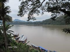 "Luang Prabang: vue sur le Mékong <a style=""margin-left:10px; font-size:0.8em;"" href=""http://www.flickr.com/photos/127723101@N04/23783057501/"" target=""_blank"">@flickr</a>"