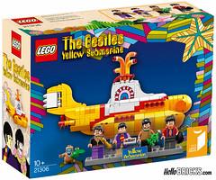 Lego Ideas #015 - The Beatles - Yellow Submarine (gnaat_lego) Tags: 015 21306 cusoo georgesharrison hellobricks ideas johnlennon lego paulmccartney review ringostar thebeatles yellowsubmarine gnaat jaitestpourvous