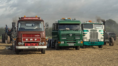 Classic Commercials at Crockley Hill (Ben Matthews1992) Tags: crockleyhill steam ploughing classic commercial old vintage historic preserved preservation vehicle transport haulage erf foden freightliner aseries gbf735n artic articulated gardner 4380 p245aju jep114w