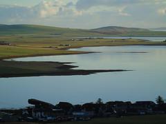 The bay of Firth (stuartcroy) Tags: orkney island beautiful bay firth finstown scotland scenery sky sea sony still stone