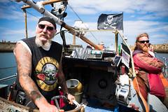 pirates (pamelaadam) Tags: whitby engerlandshire august summer 2016 people lurkation holiday2016 digital fotolog thebiggestgroup sea boat