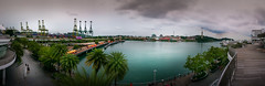 Sentosa Panorama (Gerald Ow) Tags: samsung galaxy note 4 sentosa singapore panorama resort world cable cars geraldow vivocity cloud 怡丰城 harbourfront express smn910g