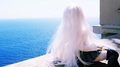 Angel~/~ (merry-chan) Tags: corsica corse dollfie dream custom volks outift sea ocean photoart pandora saber alter miku hatsune 13 sd