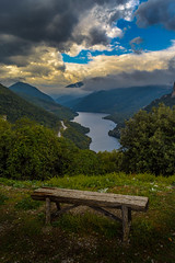 """"""" Free your mind """" (dimitrisrentis) Tags: nature nikon d5200 makedonia mountain river green colour colourful clouds sky scenery view veroia hellas outdoor landscape light water beauty bench smoky macedoniagreece timeless macedonian"""