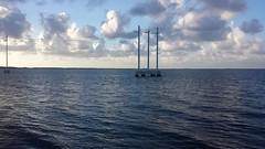 20160717_192016 (rolyrol1982) Tags: card sound road power lines key keys largo florida water bay ocean clouds