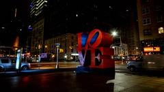 We found Love (Lojones13) Tags: manhattan outside city longexposure nikond7000 night newyork love