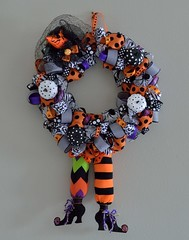 Hallowreath (ACEZandEIGHTZ) Tags: nikon d3200 holiday halloween fall decorations wreath craftwork wallhanging artsandcrafts