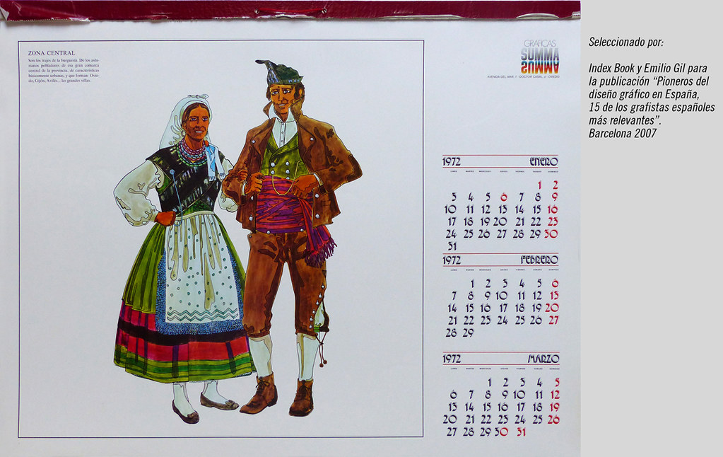 Calendario 1972.The World S Best Photos Of 1972 And Design Flickr Hive Mind
