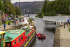 Open Sesame (Kev Gregory (General)) Tags: like from ali baba forty thieves open sesame sees a82 road bridge swung allow traffic caledonian canal enter loch ness fort augustus scottish highlands dapted barge ros crana continues coast journey scotland kev gregory canon 7d