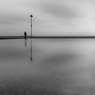 Man and Pole - Shoeburyness