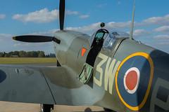 Nose and Cockpit, Supermarine Spitfire LF Mk XVIE, RW382, Heritage Hangar, Biggin Hill (Peter Cook UK) Tags: supermarine rw382 e heritage lf xvie xvi biggin spitfire hill 2016 kent mk hangar