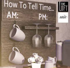 Kustom 9 Unniversary Gift (The Loft & ARIA) (Aria/ Yelo Uriza) Tags: coffee wine time theloft aria theloftsl virtualworlds virtuallife secondlife