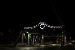 This River I Step in is Not the River I Stand in (A Great Capture) Tags: bridge night light eos digital cityscape urbanscape agreatcapture agc wwwagreatcapturecom adjm toronto on ontario canada canadian photographer northamerica ash2276 ashleylduffus ald mobilejay jamesmitchell summer summertime 2016 city downtown lights urban dark nighttime river i step is not stand street viaduct garnet