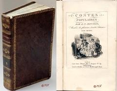 Contes populaires T. 2,  J. N. Bouilly, L. Janet, Lowel et Barthès ca 1830 (Kean105) Tags: livresanciens vieuxlivres antiquebooks contes légendes enfants enfantina