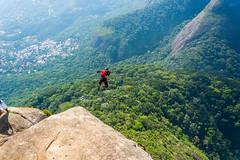 DSC_6081 (sergeysemendyaev) Tags: 2016 rio riodejaneiro brazil pedradagavea    hiking adventure best    travel nature   landscape scenery rock mountain    high green   summit base  jump  parachute extreme dangerous adrenaline