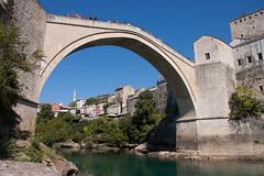 Stari Most (tiny red warrior) Tags: mostar bosniaandherzegovina europe travel starimost bridge unescoworldheritage