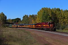 One for two (chief_huddleston) Tags: dmir tunnelmotor sd403 403 193 cn canadiannational passengertrain train railroad maroon gold mrmissabewasouttheresomewhere sowaskmad