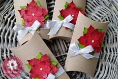 Christmas Pillow Box (sandrabastus) Tags: lawnfawn silhouette cameo