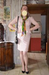 zum Termin heute nachmittag / meeting this afternoo (Eliza von J.) Tags: woman skirtsuit enfemme elegant tgirl