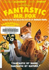 Fantastic Mr Fox (Vernon Barford School Library) Tags: roalddahl wesanderson noahbaubach georgeclooney merylstreep jasonschwartzman billmurray fox foxes animal animals behaviour behavior fathersandsons fathers sons farmers farms livestock cousins animalburrowing burrowing burrows drama animated animation animations vernon barford library libraries new recent video videos film films junior high middle school covers cover videocase videocases dvd dvds dvdcase dvdcases fiction fictional movie movies comedy comedies motionpicture motionpictures