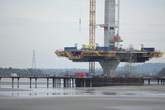 New Mersey Gateway Bridge Construction. (Barry Miller _ Bazz) Tags: widnes runcorn bridge mersey river canon 5d mark 3 300mm l lens