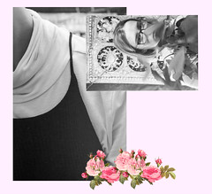 Surender Yourself to Softness (Jade Lamoureux-Kutchuk) Tags: autoportrait selfstudies feminine feministart woman mtl mtlbased lk myself blackwhite