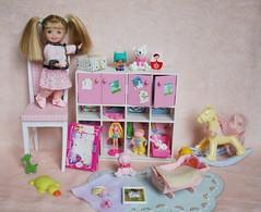 IMG_7727 (irinakopilova) Tags: barbie kelly doll little sister shelly small baby
