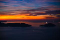 Da Nang Bucht (zirano) Tags: vietnam sunset cloud sky beach nature sea