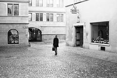 early morning (gato-gato-gato) Tags: 35mm asph ch hp5 iso400 ilford leica leicamp leicasummiluxm35mmf14 mp mechanicalperfection messsucher schweiz strasse street streetphotographer streetphotography streettogs suisse summilux svizzera switzerland wetzlar zueri zuerich zurigo zrich analog analogphotography aspherical believeinfilm black classic film filmisnotdead filmphotography flickr gatogatogato gatogatogatoch homedeveloped manual rangefinder streetphoto streetpic tobiasgaulkech white wwwgatogatogatoch zrich manualfocus manuellerfokus manualmode schwarz weiss bw blanco negro monochrom monochrome blanc noir strase onthestreets mensch person human pedestrian fussgnger fusgnger passant zurich