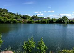 A Lake Was Formed (J&E Adventures) Tags: upperpeninsula uppermichigan michigancoast nature puremichigan ironmountain phonephotography up lake iphone exploring michigan unitedstates us