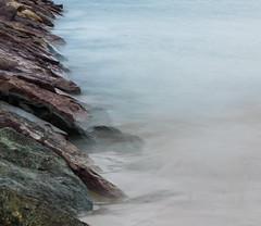 Into the mist (wardeb) Tags: longexposure ocean waves oceanlandscape pier rocks misty mist minimalism minimalist colorful fall fallcolors newengland nikon 55mm hdr lightroom rain landscape landscapephotography beachlandscape