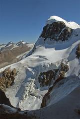 Zermatt , the Breithorn (4,160 alt.). View from the Klein Matterhorn.No. 56. (Izakigur) Tags: helvetia dieschweiz feel swiss suiza musictomyeyes liberty lepetitprince europa europe svizzera suizo suïssa suisia myswitzerland sch lasuisse flickr switzerland schwyz nikon izakigur glacier
