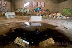 Pablo Carranza -  Kgrind (jopez _fotografia) Tags: pablo carranza kgrind nevera frigorfico skate skateboarding cantabria spain abandoned ruins factory fabrica abandonada ruinas reflejo reflection jopez jorgelpez
