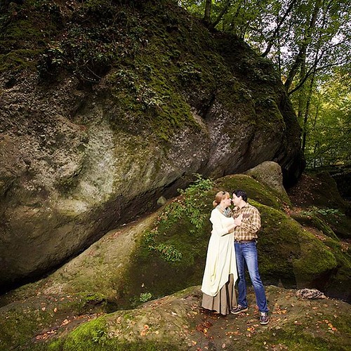 #engagement #session #hungary #pilis #forest #autumn #colours #light #couple #wedding #weddingphotography #canonlens #canon #canonphotography #canonef #canon1635mm #rocks #green #amazing #place