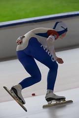 A37W0440 (rieshug 1) Tags: speedskating schaatsen eisschnelllauf skating nkjunioren knsb nkjuniorenallroundafstanden afstanden allround 50010001500massstart demeent alkmaar sportcomplexdemeent juniorenb ladies dames 3000m