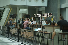 DSC04282 (oliveplum) Tags: drinks beer shoppingmall capitolpiazza singapore sony olympusomsystemzuikomcautot12f85mm people