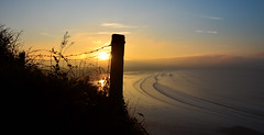 Sunrise (Barbara Walsh Photography) Tags: sunrise inch beach kerry ireland sand water sea surfing