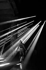 Beam me up, Scotty (Hykkelbjerg) Tags: venice biennale jean nouvel silhoutte god rays beam transcendental