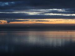 Sunrise. (~Ingeborg~) Tags: meinge amsterdam sunrise ijmeer ijburg dark donker somber gloomy sky clouds wolken stemming mood vroeg early