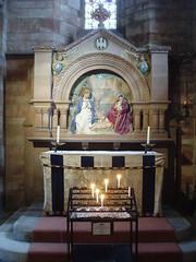 Chapel Altar, Shrewsbury Abbey (Aidan McRae Thomson) Tags: shrewsbury abbey church shropshire reredos