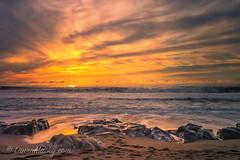 I'm back! (Laura Macky) Tags: sunset cambria beach ocean california landscape seascape