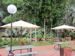 REST AREA (PINOY PHOTOGRAPHER) Tags: banaybanay davao del sur lamp post table umbrella mindanao philippines asia world
