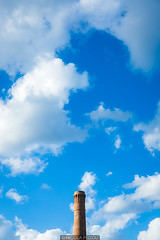 Chimney (Nicola Pezzoli) Tags: chimney favignana sicilia sicily island egadi summer sea water colors nature canon tourism clouds blue sky tonnara stabilimento florio