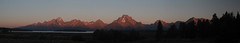 Teton sunrise (RPahre) Tags: pano panorama tetons grandtetons grandtetonnationalpark wyoming sunrise mountmoran robertpahrephotography copyrighted donotusewithoutwrittenpermission