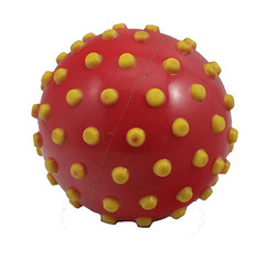 KH5-84 (zhuchuangtoys) Tags: pvc inflatable kids sport play two tone colorful spiky massage ball children blow inflate