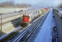 SOO SD40 743 (Chuck Zeiler) Tags: soo sd40 743 railroad emd locomotive train chz chicago