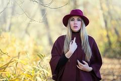 Ania (Pablo Cañas) Tags: ania modelo model moda modeling modelingfashion naturaleza belleza capa sombrero hat pose posing portrait portraiture posado