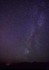 Milky Way Galaxy and a small forest fire (Garrett Meyers) Tags: trees pine night way stars shower oak photographer nightscape dam august garrett andromeda galaxy shasta 11th milky redding meyers meteor 2015 starscape meteorshower perseid garrettmeyers reddingphotographer